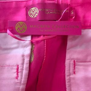 Macbeth Collection by  Margaret Josephs Shorts - Macbeth Collection pink pineapple shorts NWT